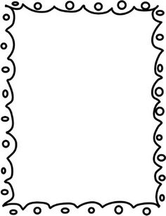 collection of borders. Boarder clipart black and white