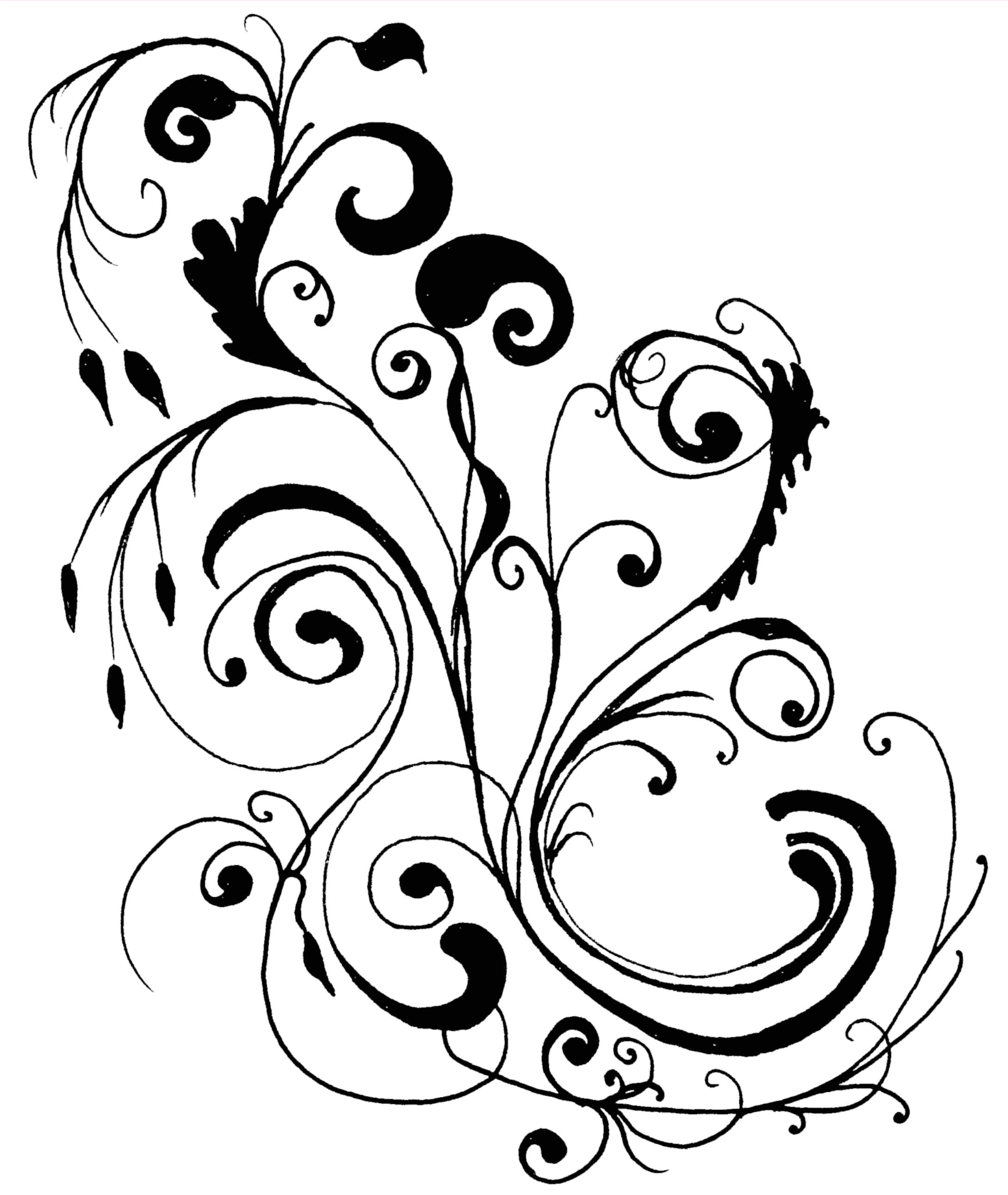 Flower library clip art. Boarder clipart border design