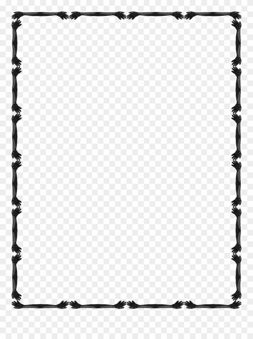 Simple design pinclipart . Boarder clipart borderline