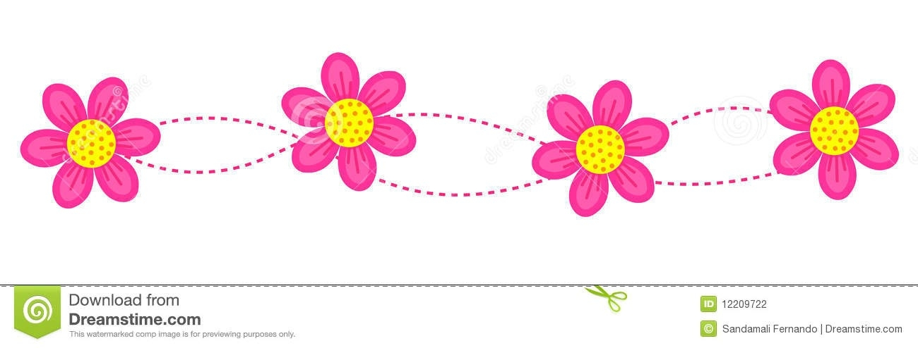 Boarder clipart borderline. Flower border line kind