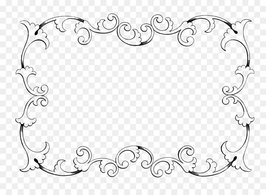 Classic clip art picture. Boarder clipart calligraphy
