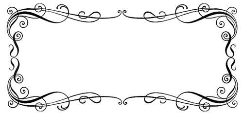 rustic border clip. Boarder clipart calligraphy