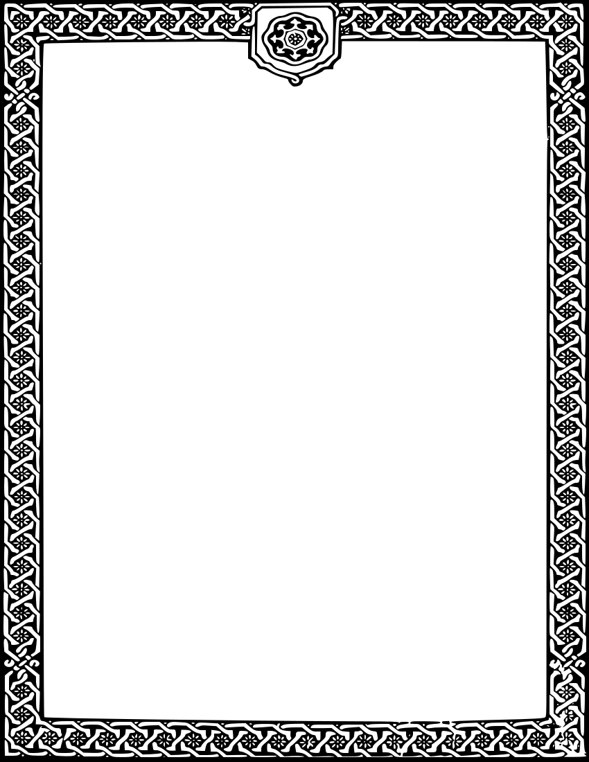 Floral frame page frames. Boarder clipart classy