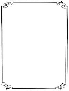 Boarder clipart classy. Elegant page borders pinteres