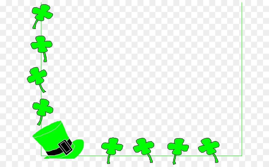 Republic of irelandxe u. Boarder clipart clover
