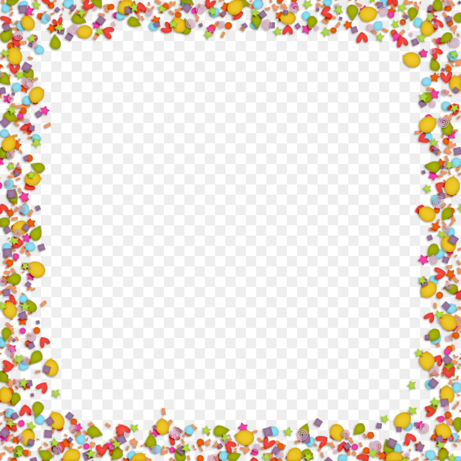 Stock photography birthday clip. Boarder clipart confetti
