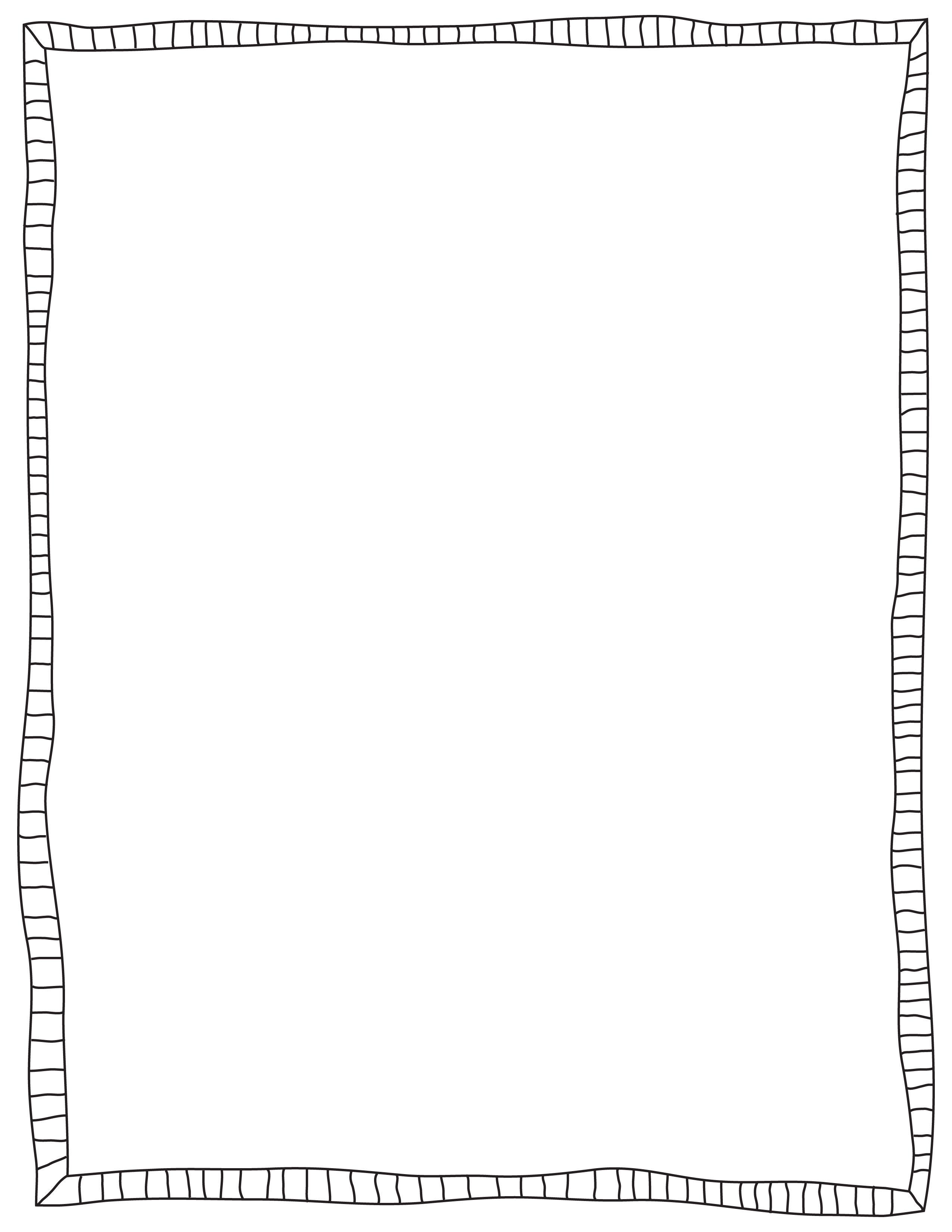 Frames borders clip art. Boarder clipart doodle