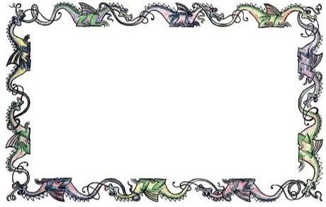 Boarder clipart dragon. Free border cliparts download