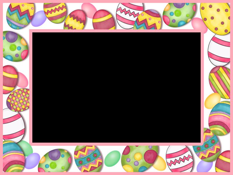 Boarder clipart easter egg. Frame borders frames backgrounds