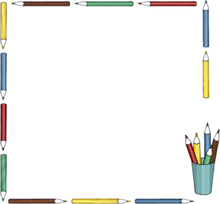 Frame clipart education. Free border cliparts download