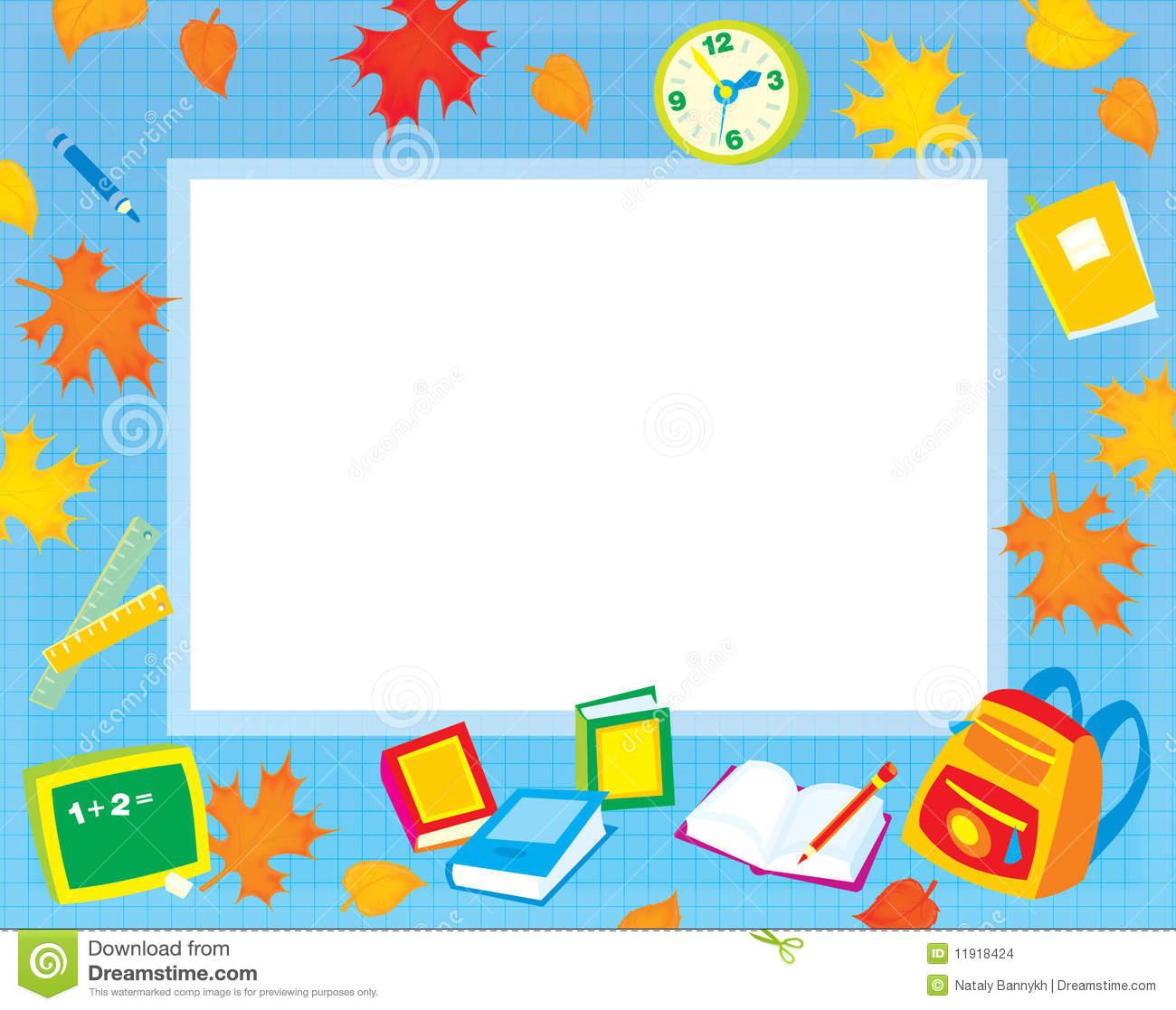 Boarder clipart education. Elementary border