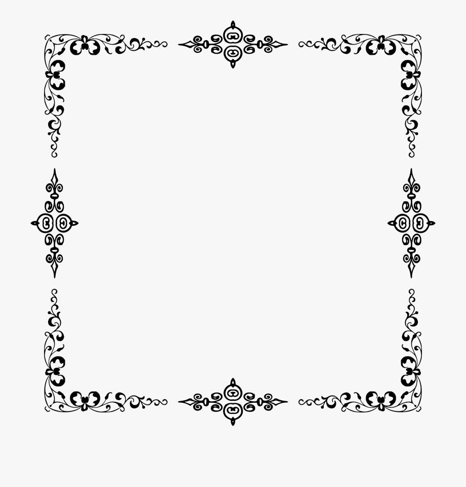 Boarder clipart elegant. Border frame png certificate