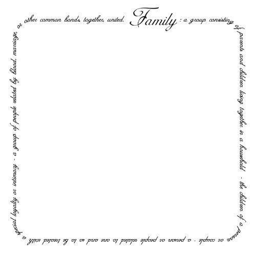 Boarder clipart family. Page border reunion ideas