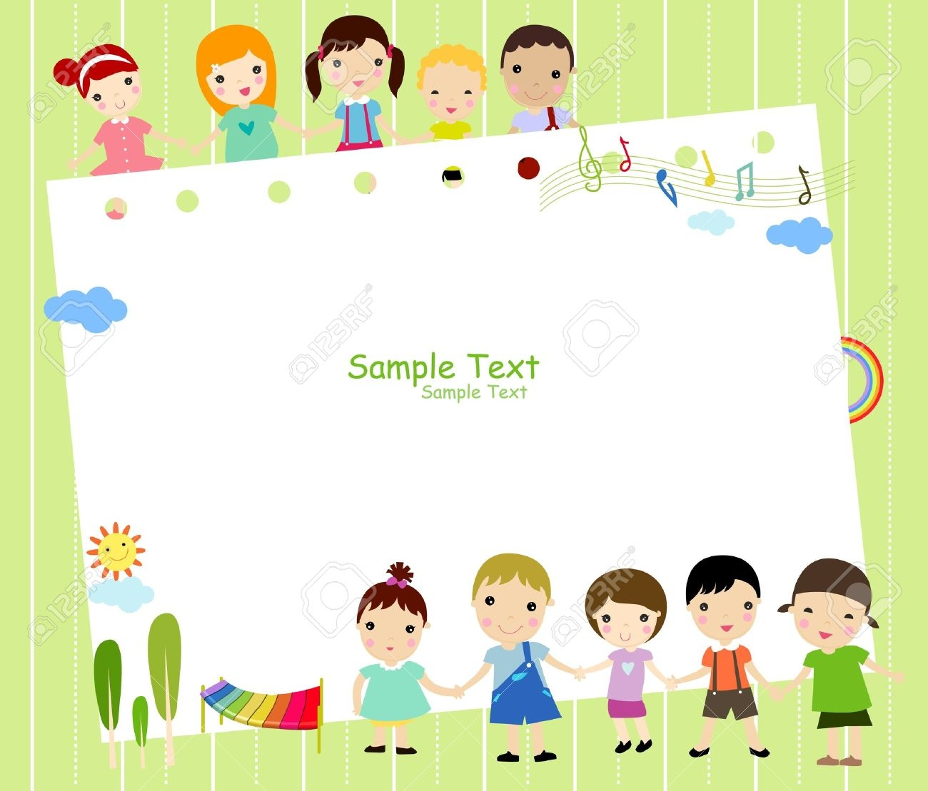 collection of frame. Boarder clipart family