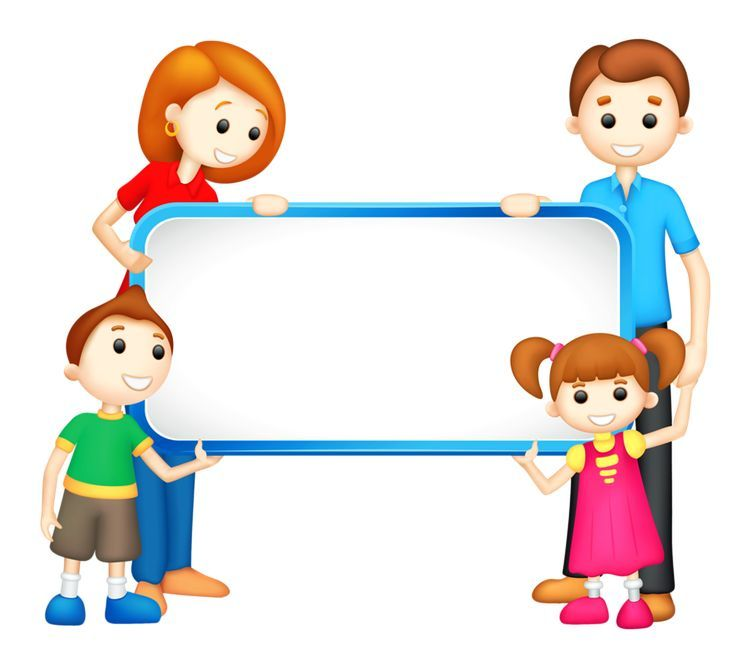 Vector google pinterest . Boarder clipart family