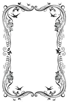 Borders for word documents. Border clipart fancy