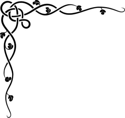 Boarder clipart filigree. Cliparts designer borders