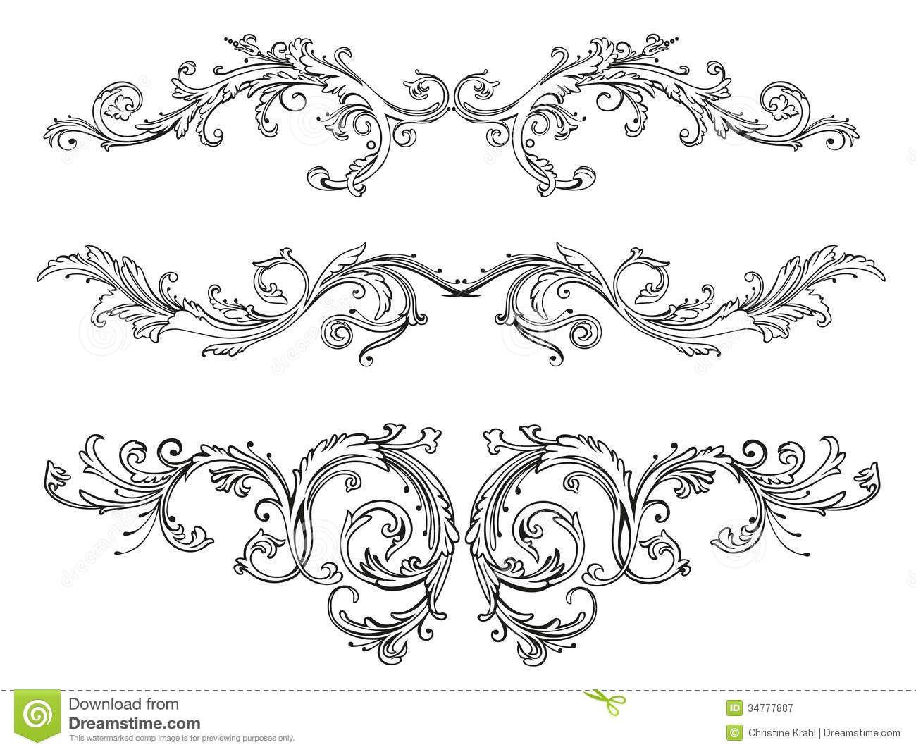 Boarder clipart filigree. Clip art border decorative