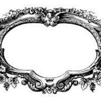 Boarder clipart filigree. Frame design reviews unfinished