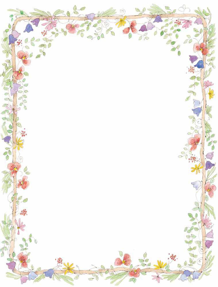 Boarder clipart floral. Wedding borders clip art