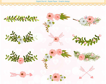 Boarder clipart floral. Borders vector flowers border