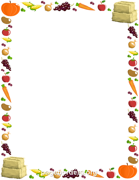 border clip art. Boarder clipart food