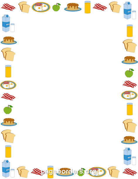 Clipart borders kitchen. Free food cliparts download