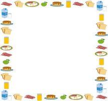 Border clipart food. Free cliparts download clip