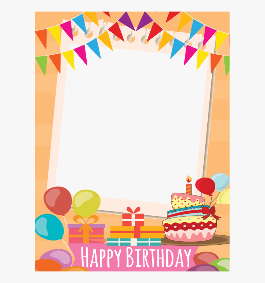 Frame border birthdayboy birthdayfreetoedit. Boarder clipart happy birthday