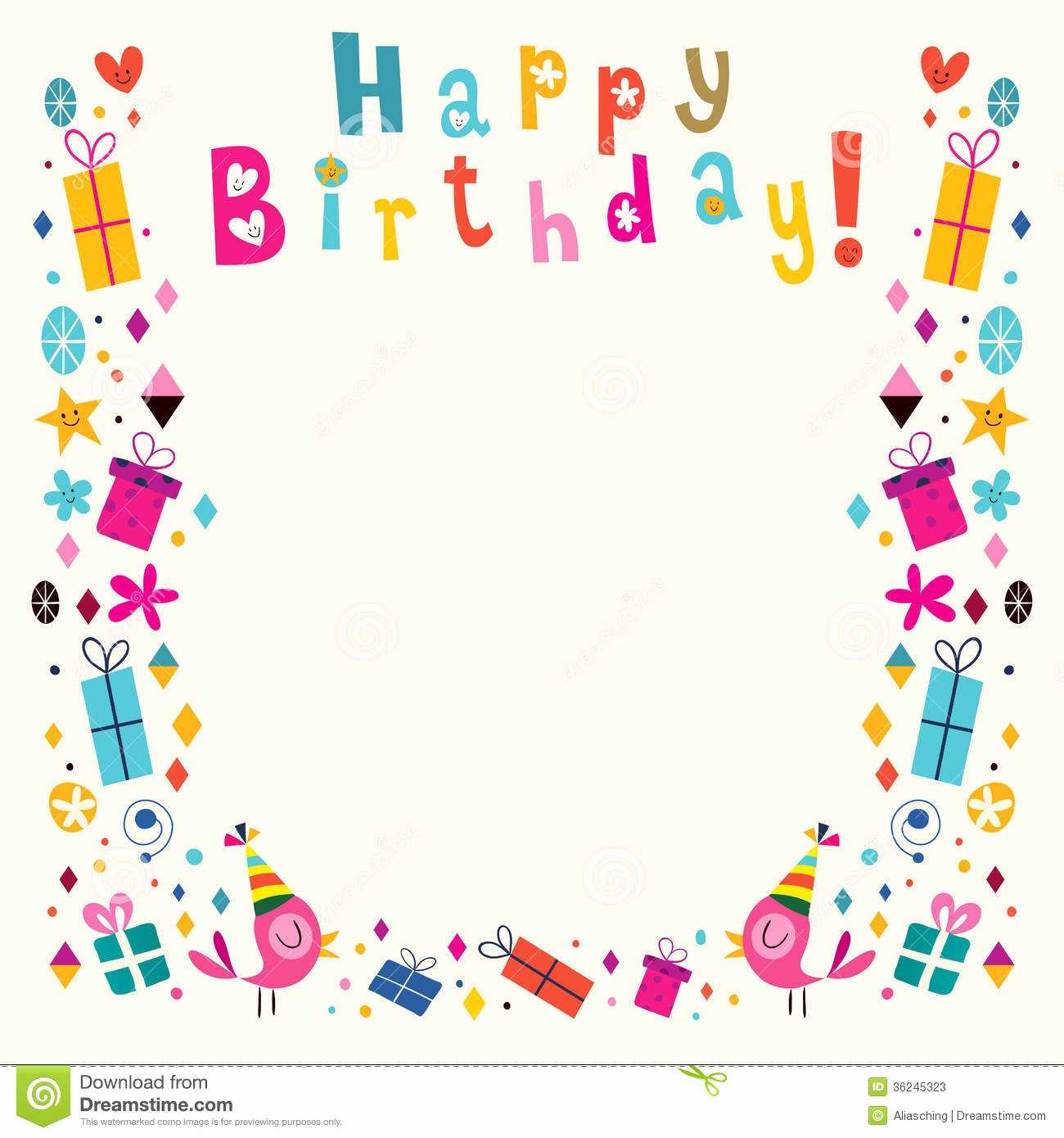 Boarder clipart happy birthday. Border images fresh borders