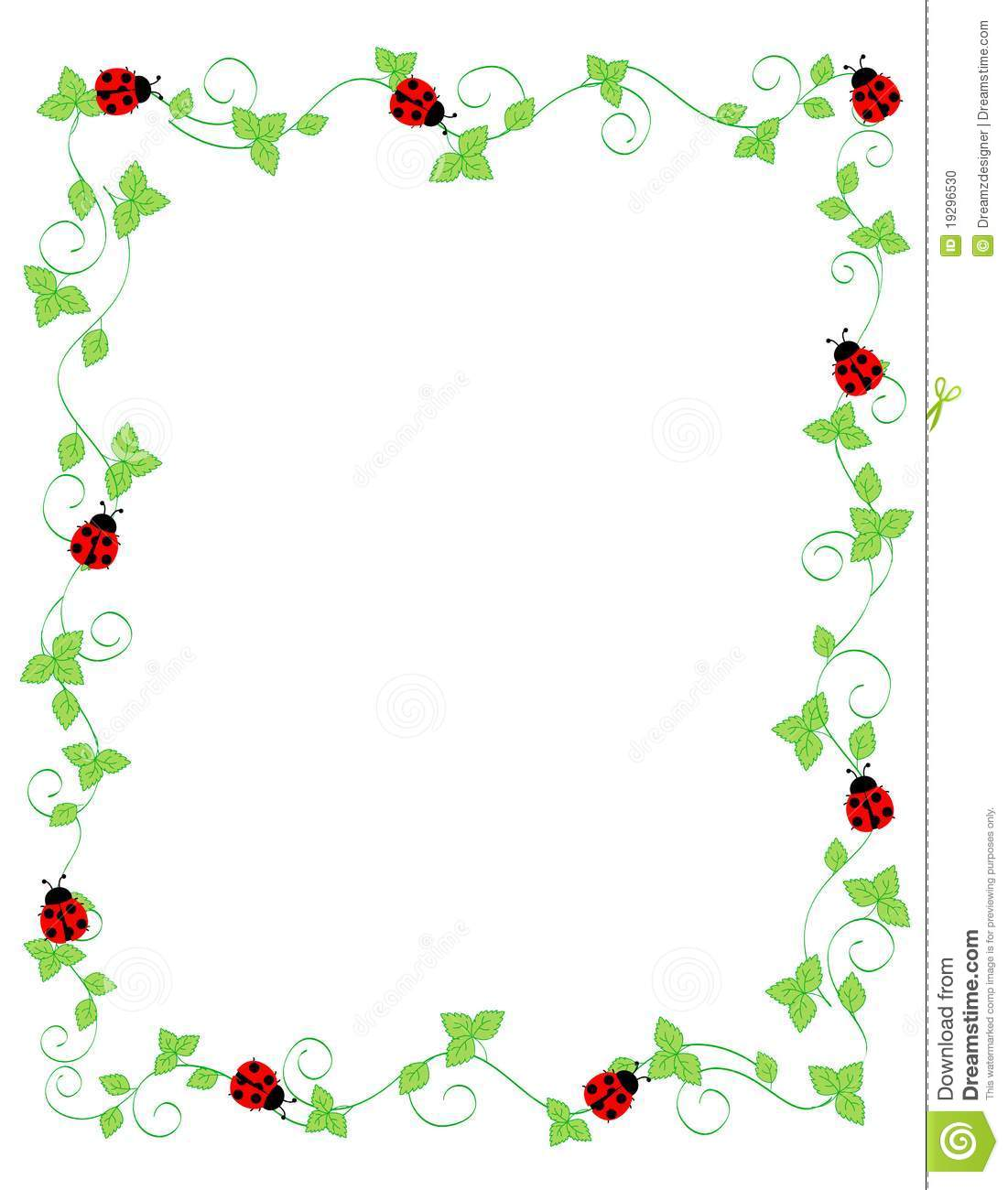 Boarder clipart ladybug.  collection of border