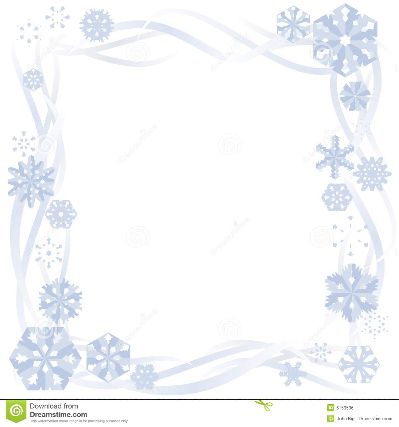 Boarder clipart line art.  collection of winter