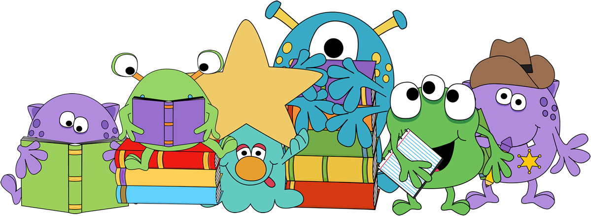 Monster clipart teacher.  collection of border