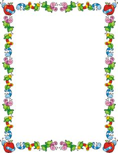 Boarder clipart monster. Printable border use this