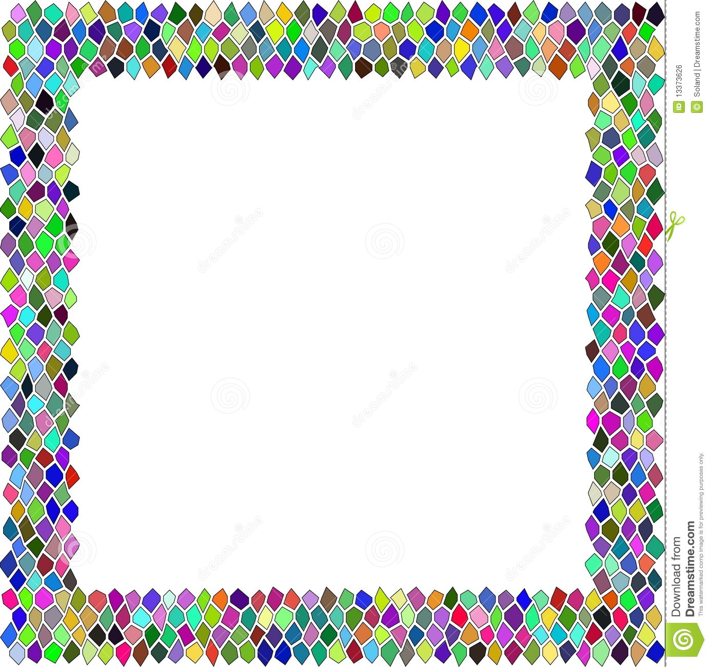 Borders . Boarder clipart mosaic