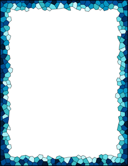 Boarder clipart mosaic. Border patterns free pattern