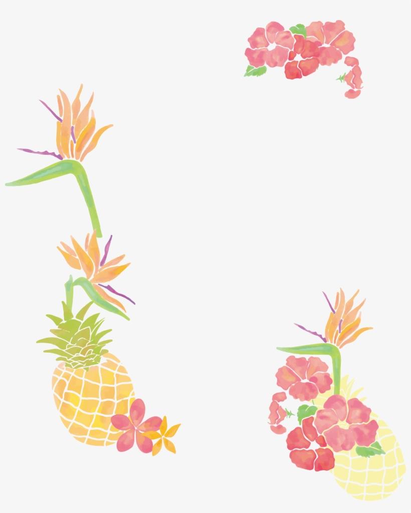 Pineapple clipart borders. Freeuse stock clip art