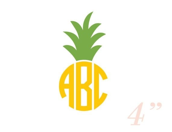 Boarder clipart pineapple. Top of letter master