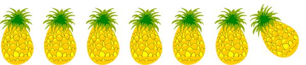 Boarder clipart pineapple. Sugarlane designs stalls and
