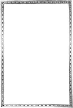 Free printable page borders. Boarder clipart plain