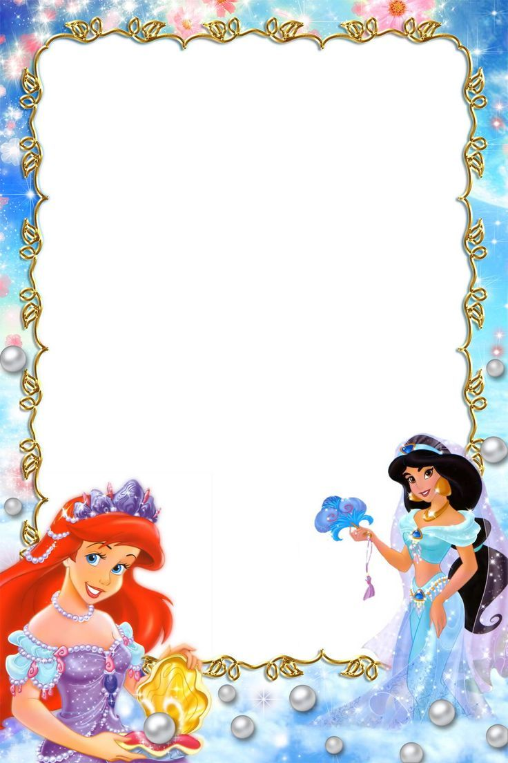 Border frames pictures borders. Boarder clipart princess