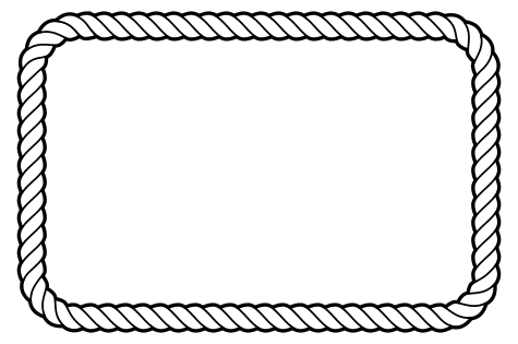 Boarder clipart rectangle. Free rope vector inkscape