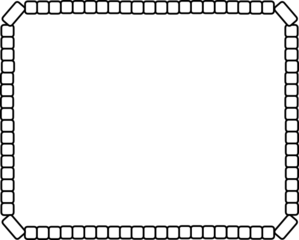 Rectangular border borders . Boarder clipart rectangle