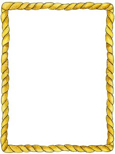 A page border free. Boarder clipart rope