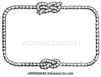Boarder clipart rope. Knot border