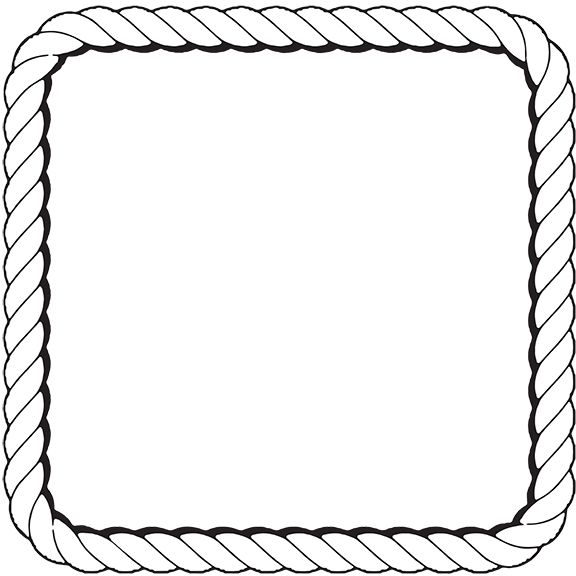 Boarder clipart rope. Free border download clip