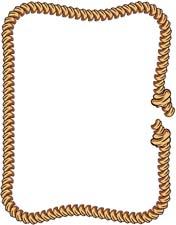 Boarder clipart rope. Free border clip art