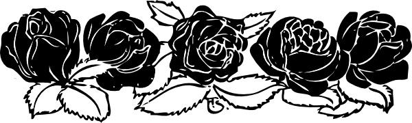 Boarder clipart rose. Border clip art free
