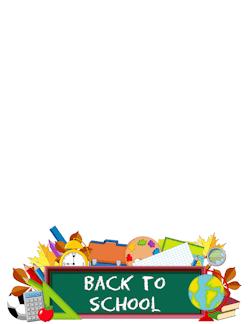Boarder clipart school. Free borders clip art
