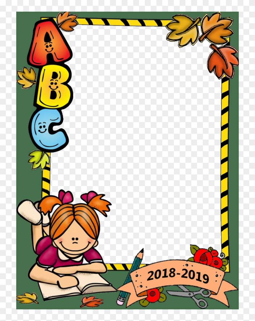 Border back to images. Boarder clipart school